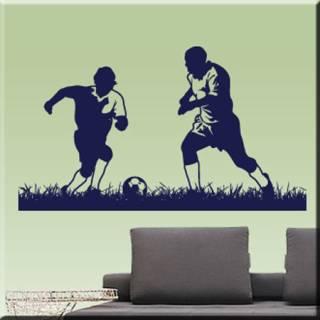 Wandtattoo Fußball Duell