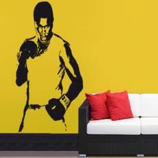 Wandtattoo Boxen Muhammad Ali