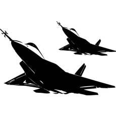 Wandtattoo Bundeswehr F22 Raptor Jet Flugzeug