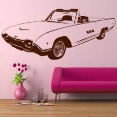 Wandtattoo Auto Ford Thunderbird 1963 Cabrio