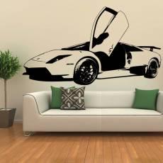 Wandtattoo Lamborghini Murcielago Plot