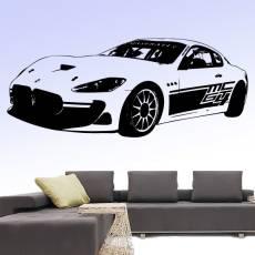 Wandtattoo Maserati Grand Turismo MC1 Rennwagen