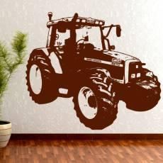 Wandtattoo Traktor Massey Ferguson 6270