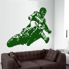 Wandtattoo Supermoto 5 Motorrad Motocross