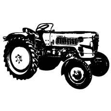 Wandtattoo Traktor Fendt Fix Trecker