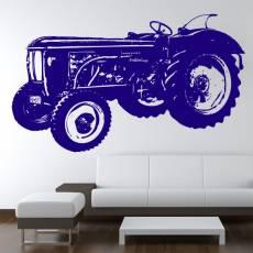 Wandtattoo Traktor Hanomag Brillant Trecker