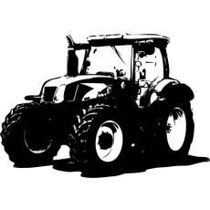 Wandtattoo Traktor New Holland T 6030