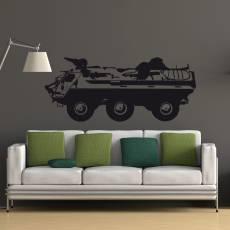 Wandtattoo Panzer Fuchs Panzerkampfwagen