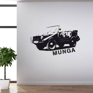 Wandtattoo Auto MUNGA Geländewagen