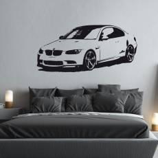 Wandtattoo BMW M3 Aufkleber