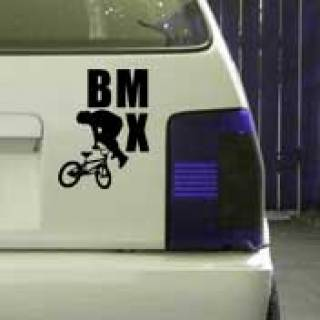 BMX Tailwhip Funsport Aufkleber Sticker Skate Tattoo