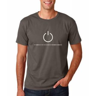 Funshirt Power Binary Nerdshirt