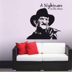 Wandtattoo Film A Nightmare on Elm Street Horror