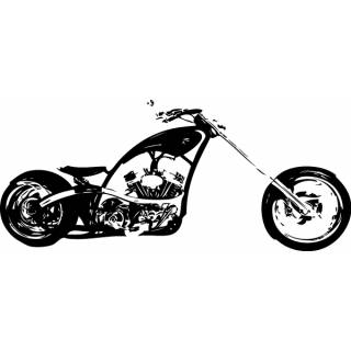 Wandtattoo Motiv Orange County Chopper