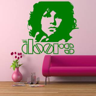 Wandtattoo Musik The Doors Rock