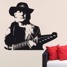 Wandtattoo Musik Johnny Winter - Nr.1