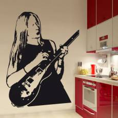 Wandtattoo Musik Johnny Winter - Nr.2
