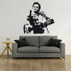 Wandtattoo Musik Johnny Cash - Nr.2 Finger