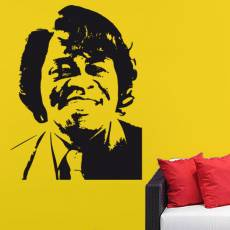 Wandtattoo Musik James Brown