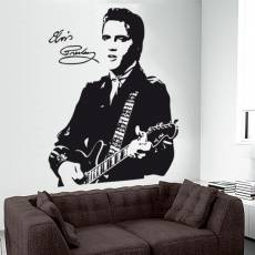 Wandtattoo Musik Elvis Presley - Nr.2 The King of