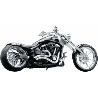 Wandtattoo Wandaufkleber Wallprint Custom Chopper Yamaha Chrom