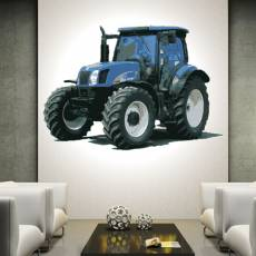 Wandtattoo Wandaufkleber Wallprint Traktor New HollandT...