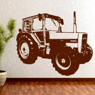 Wandtattoo Traktor Eicher 4048 Kinderzimmer Wallprint