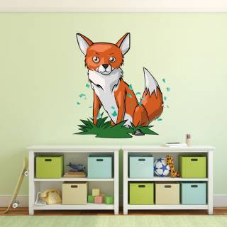 Wallprint Wandsticker Fuchs