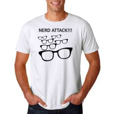 "Funshirt ""Nerd Attack"" Nerdshirt"