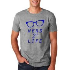 "Funshirt ""Nerd 4 Life"" Nerdshirt"