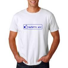 T-Shirt Funshirt Gefällt mir I Like It Partyshirt