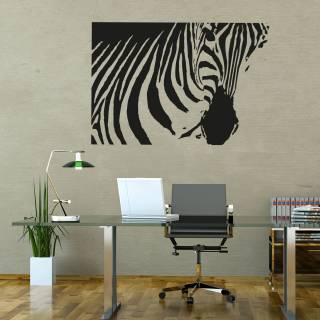 Wandtattoo Afrika Zebra Savanne