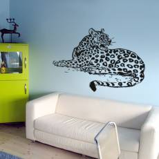 Wandtattoo Afrika Leopard - Nr.3