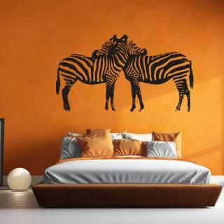 Wandtattoo Afrika Zebra Kinderzimmer