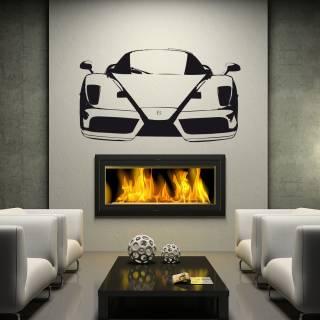 Wandtattoo Ferrari Enzo Auto PS