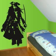 Wandtattoo Pirat Jack Sparrow Johnny Depp Seeräuber