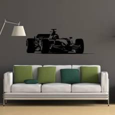 Wandtattoo Formel 1 Motorsport Rennauto