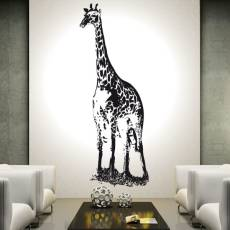 Wandtattoo Giraffe Afrika Kinderzimmer