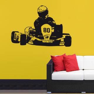 Wandtattoo Go Kart Motorsport Nr.2