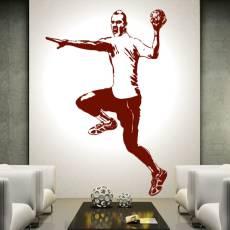 Wandtattoo Handballer Nr.1 Handball Sport