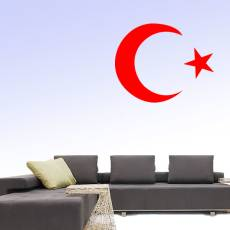 Wandtattoo Motiv Deko - Türkei