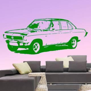 Wandtattoo Motiv Motor Manta