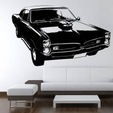 Wandtattoo Motiv Motor Pontiac GTO