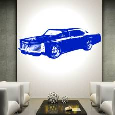 Wandtattoo Motiv Motor Pontiac GTO 2
