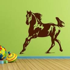 Wandtattoo Pferd Kinderzimmer Kind XXL #1