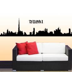 Wandtattoo Skyline Dubai Silhouette