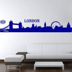 Wandtattoo Skyline London Silhouette
