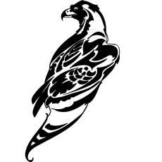 Wandtattoo Tiere Adler