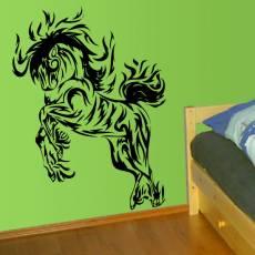 Wandtattoo Tribal Horse