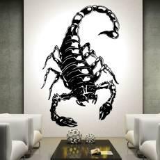 Wandtattoo Skorpion